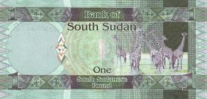 Южносуданский фунт1р