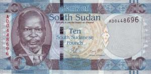 Южносуданский фунт10а