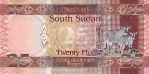 Южносуданский фунт25р