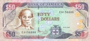 Ямайский доллар50а