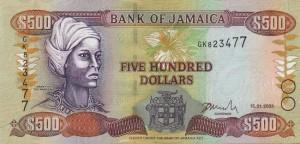 Ямайский доллар500а