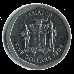 Ямайский цент500р