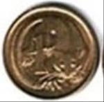 австралийский цент 1а