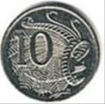 австралийский цент 10а