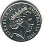 австралийский цент 10р
