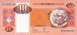 ангольская кванза 10а