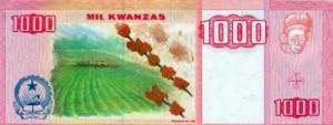 ангольская кванза 1000р