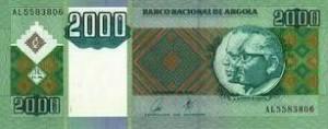 ангольская кванза 2000а