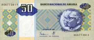 ангольская кванза 50а