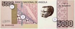 ангольская кванза 5000а