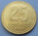 аргентинский сентаво 25а