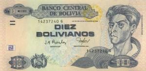 боливиано 10а