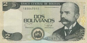 боливиано 2а боливия