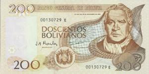 боливиано 200а