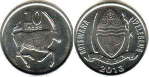 ботсвана 10 тхебе
