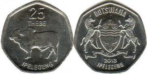 ботсвана 25 тхебе
