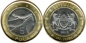 ботсвана 5 пул
