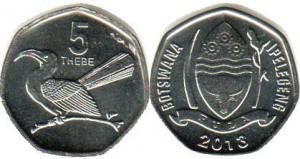 ботсвана 5 тхебе