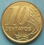 бразильский сентаво 10а