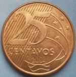 бразильский сентаво 25а