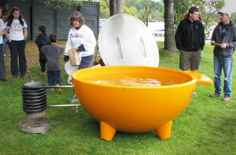 ванна на дровах