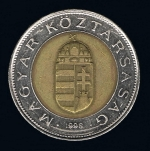венгерский форинт 100p