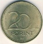 венгерский форинт 20f