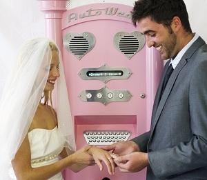 вендинг свадебный автомат