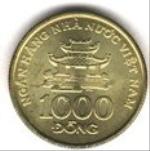 въетнамский донг 1000а
