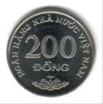 въетнамский донг 200а
