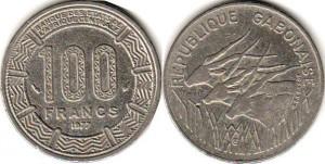габон 100 франков