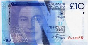 гибралтарский фунт 10а