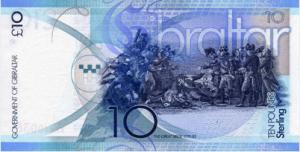 гибралтарский фунт 10р