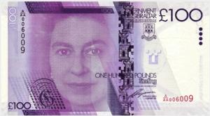 гибралтарский фунт 100а