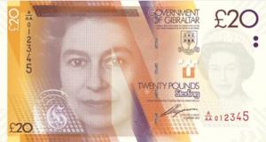 гибралтарский фунт 20а