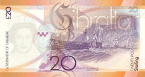 гибралтарский фунт 20р