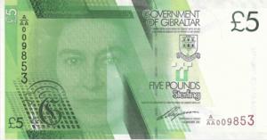 гибралтарский фунт 5а