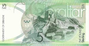 гибралтарский фунт 5р