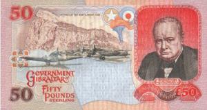 гибралтарский фунт 50р