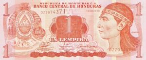 гондурасская лемпира 1а