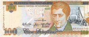 гондурасская лемпира 100а