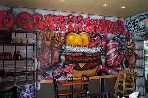 граффити ресторан