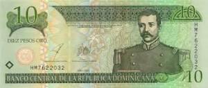 доминиканское песо 10а