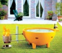 Уникальная ванна для дачи