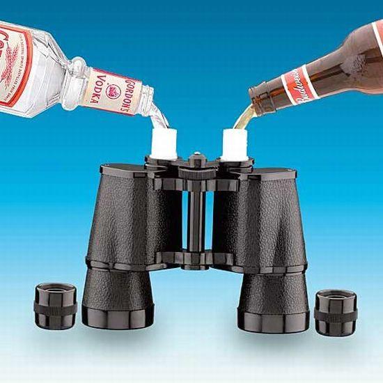 емкость для пива бинокль