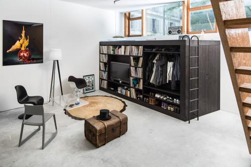 жилой куб в квартире