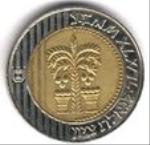 израильская шекель 10p