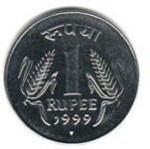индийский рупий 1a
