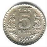 индийский рупий 5a