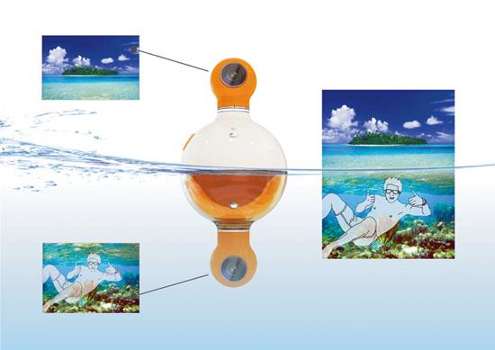 камера для съемки под над водой